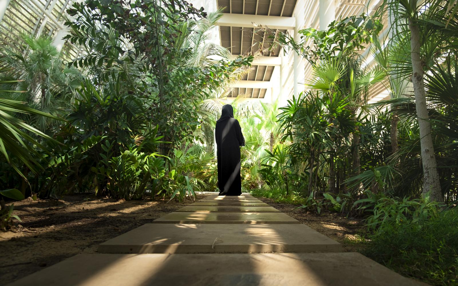 Why Nature Matters - Emirati woman in nature